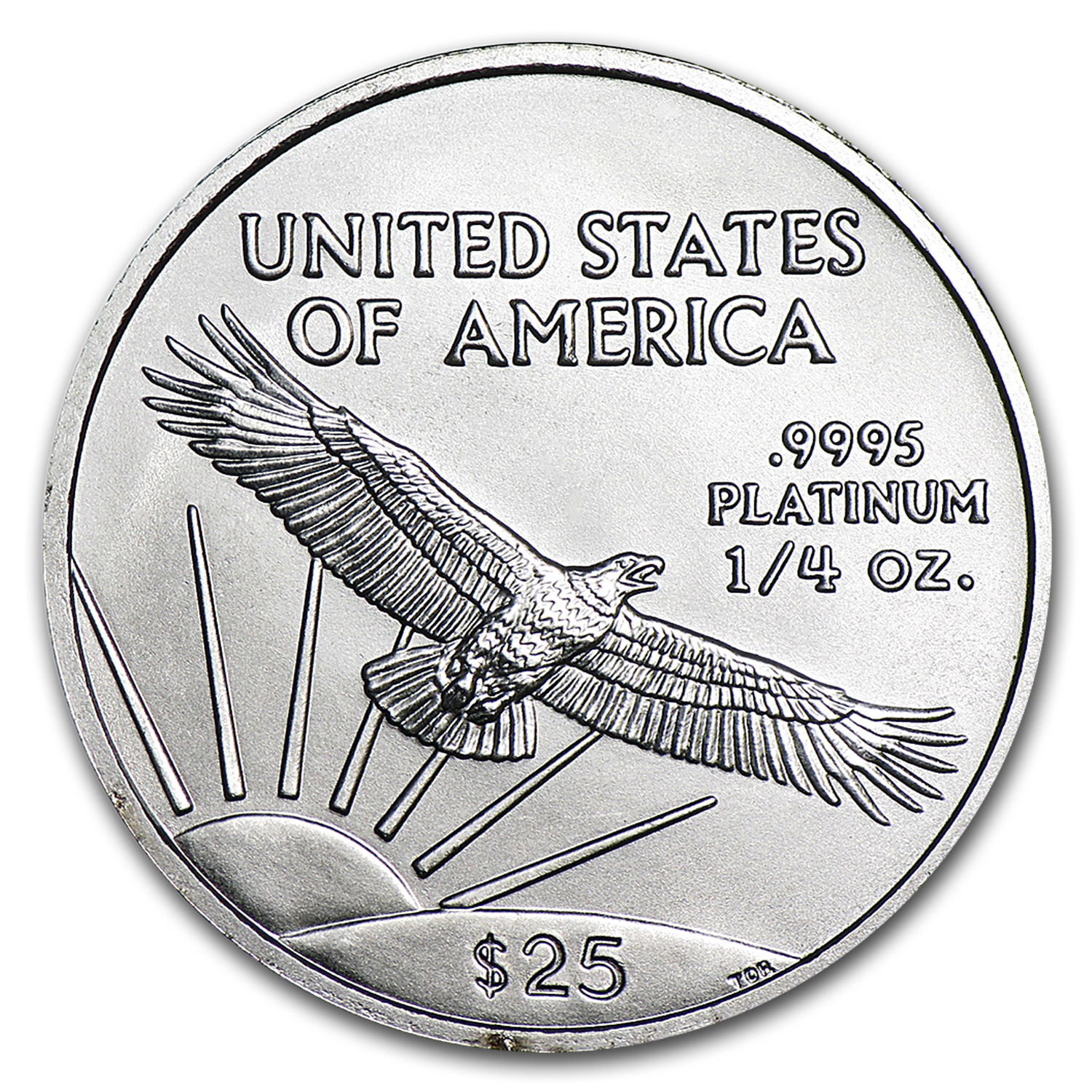 1/4 oz Platinum American Eagle BU (Random Year)