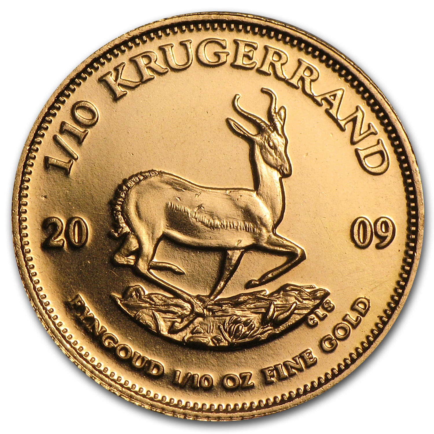 2009 South Africa 1/10 oz Gold Krugerrand