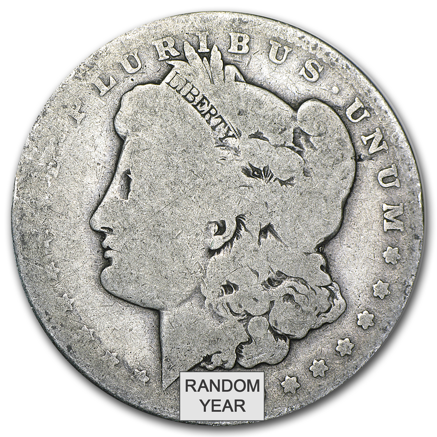 1878-1904 Morgan Silver Dollar AG