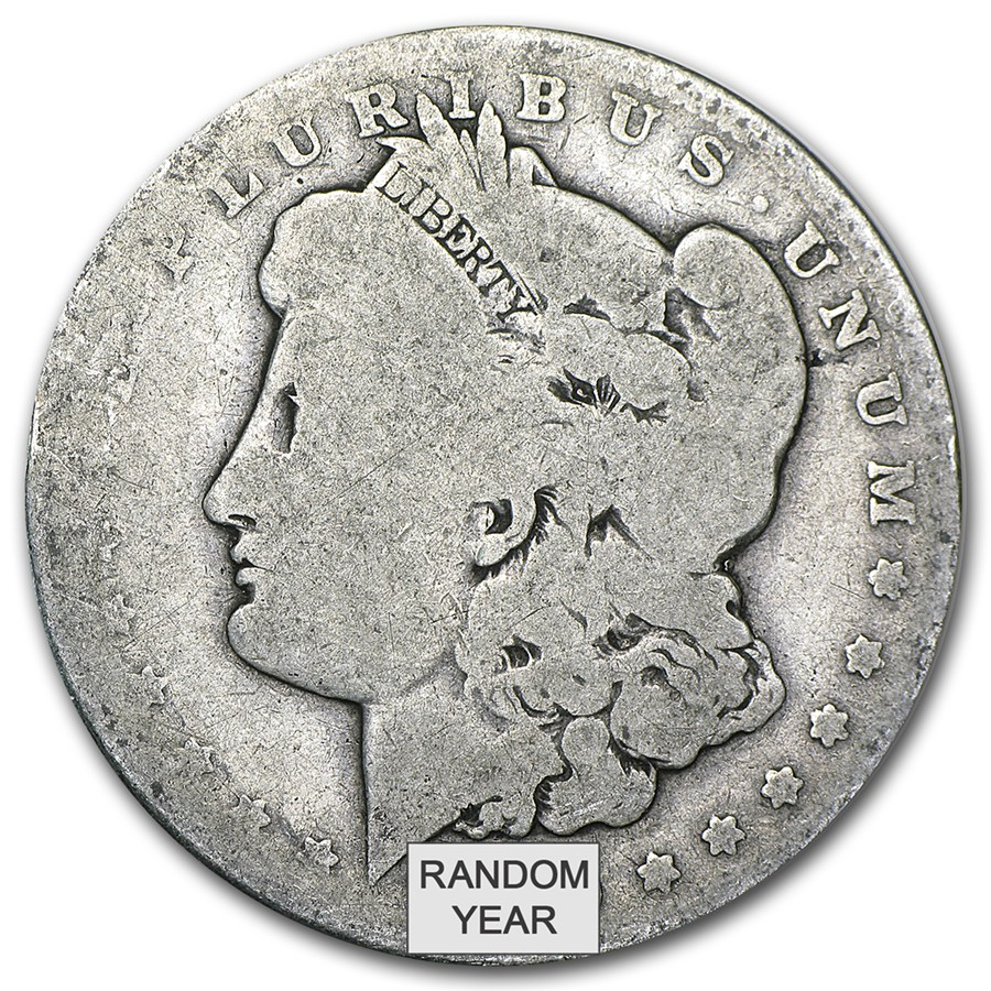 1878 1904 Morgan Silver Dollar Almost Good 90 Silver