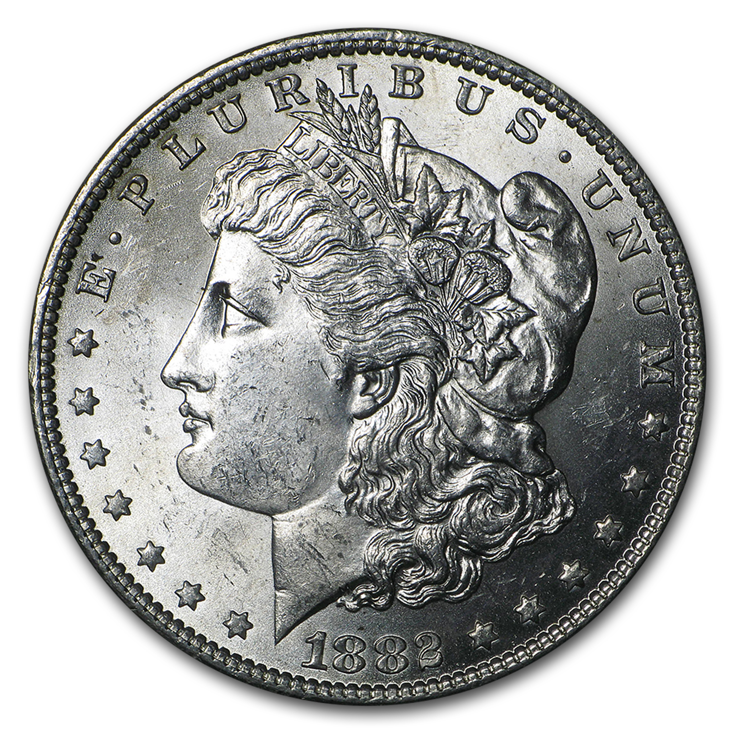1882-O/O Morgan Dollar BU (VAM-7, Top-100)
