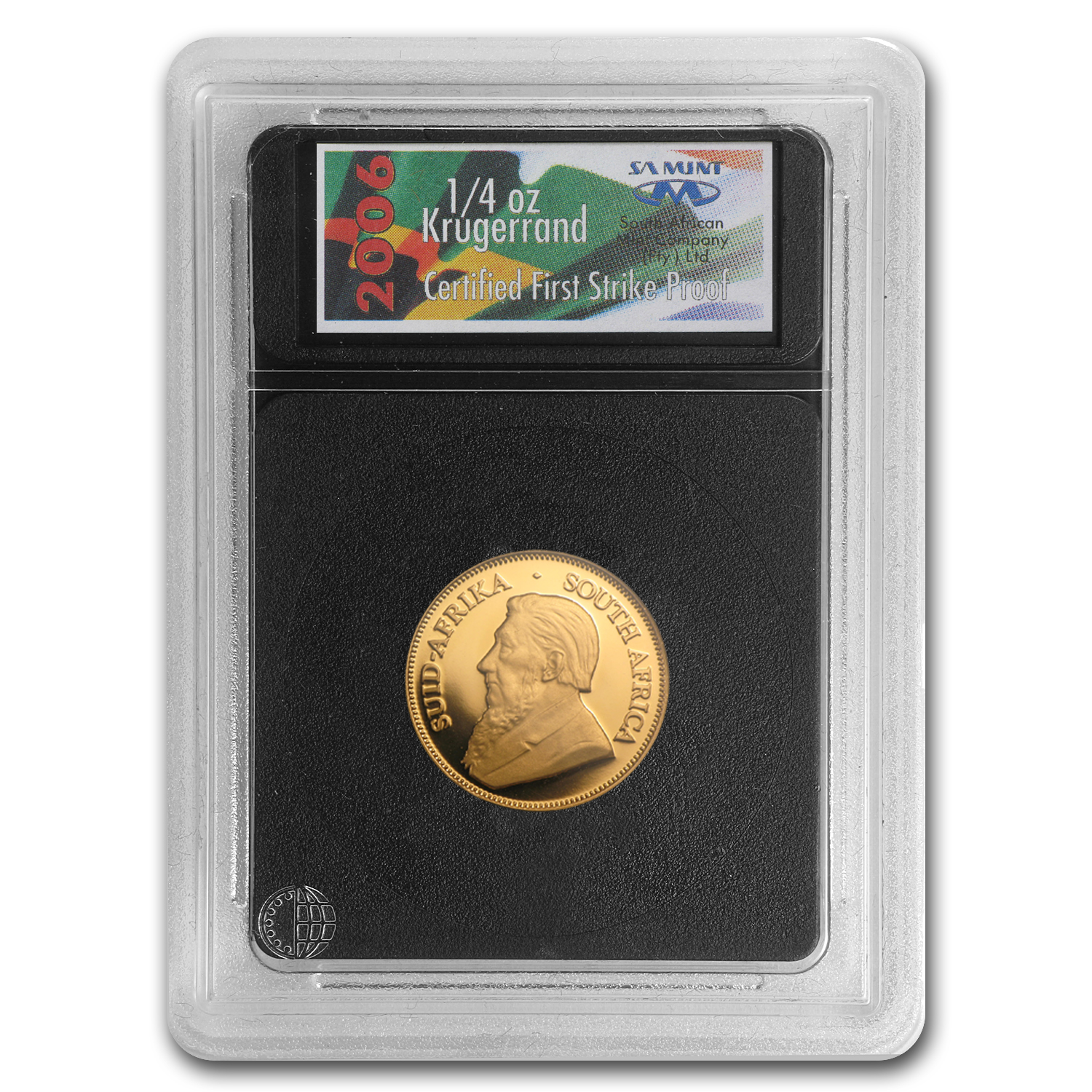 2006 South Africa 4-Coin Gold Krugerrand Proof Set (FS)
