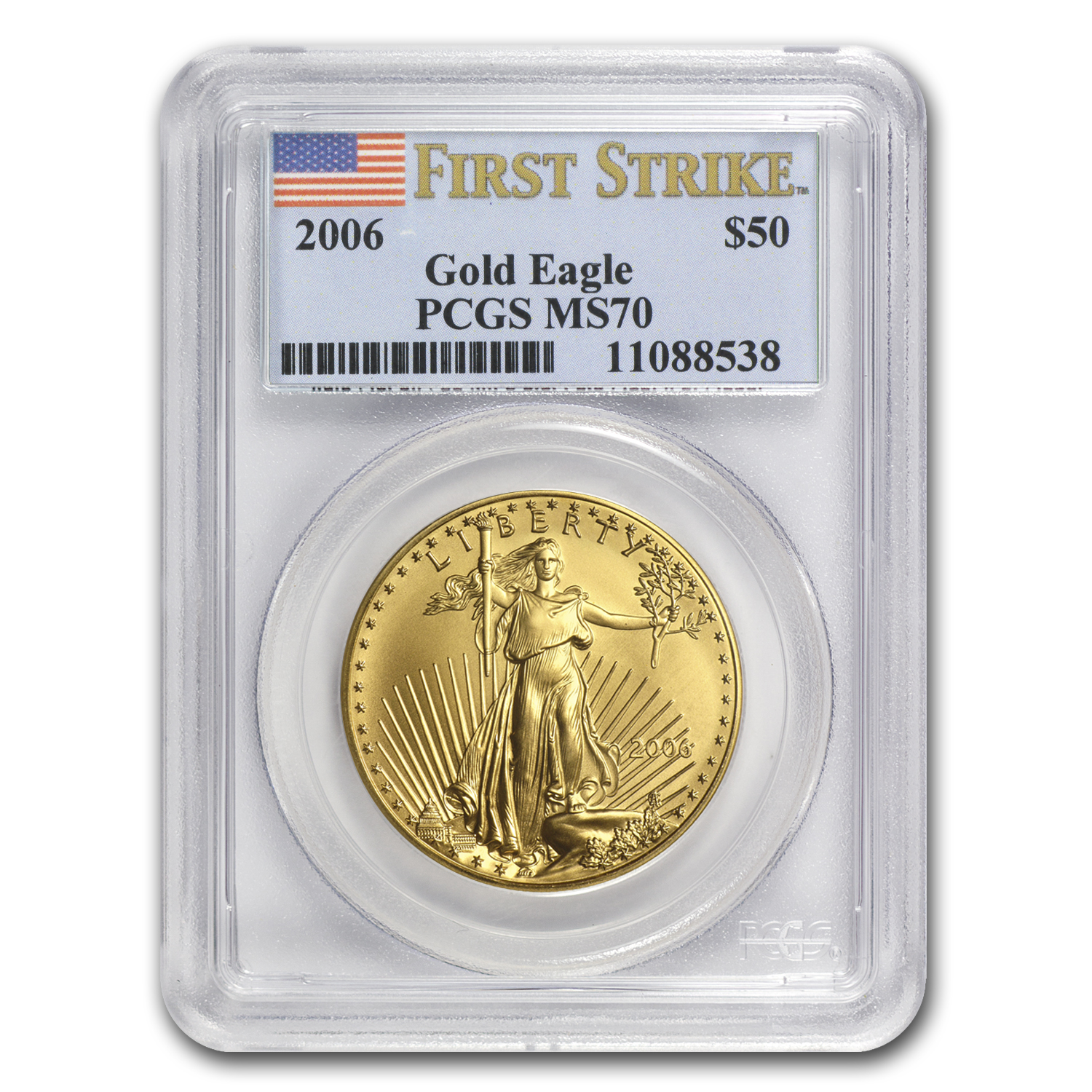 2006 4-Coin Gold American Eagle Set MS-70 PCGS (FS)