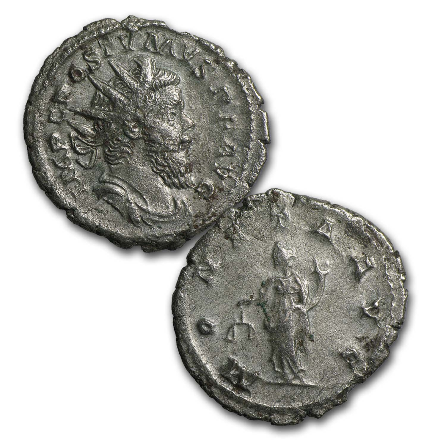 12 COIN SILVER ROMAN EMPEROR COLLECTION