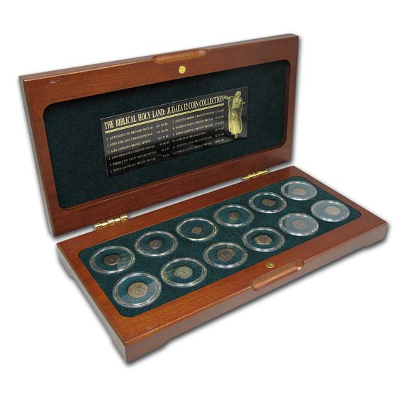 Biblical Holy Land 12 Coin Collection