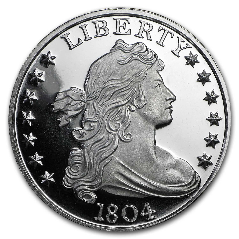 1 Oz Silver Round 1804 Silver Dollar 1 Oz Silver