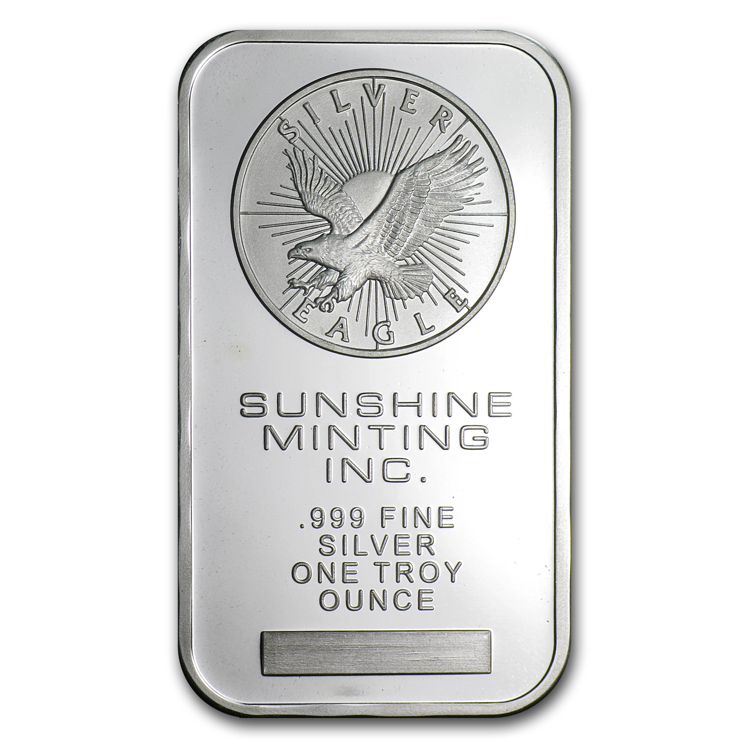 1 oz Silver Bar - Sunshine (Original)