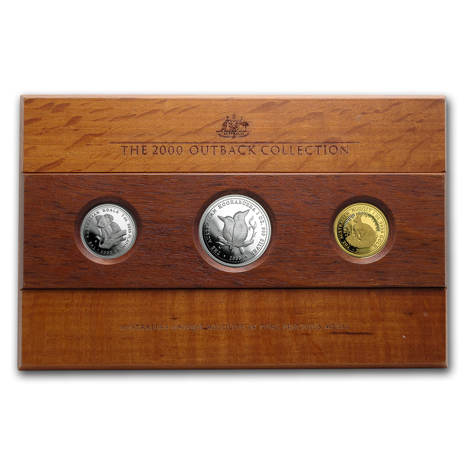 2000 Australia 3-Coin Proof Outback Collection