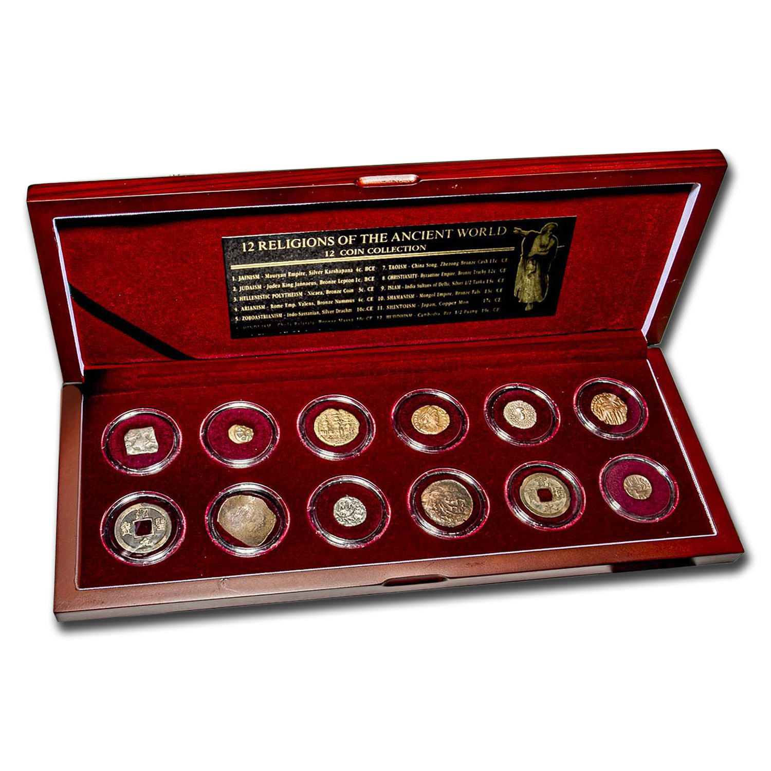 Religions of the Ancient World 12-Coin Set