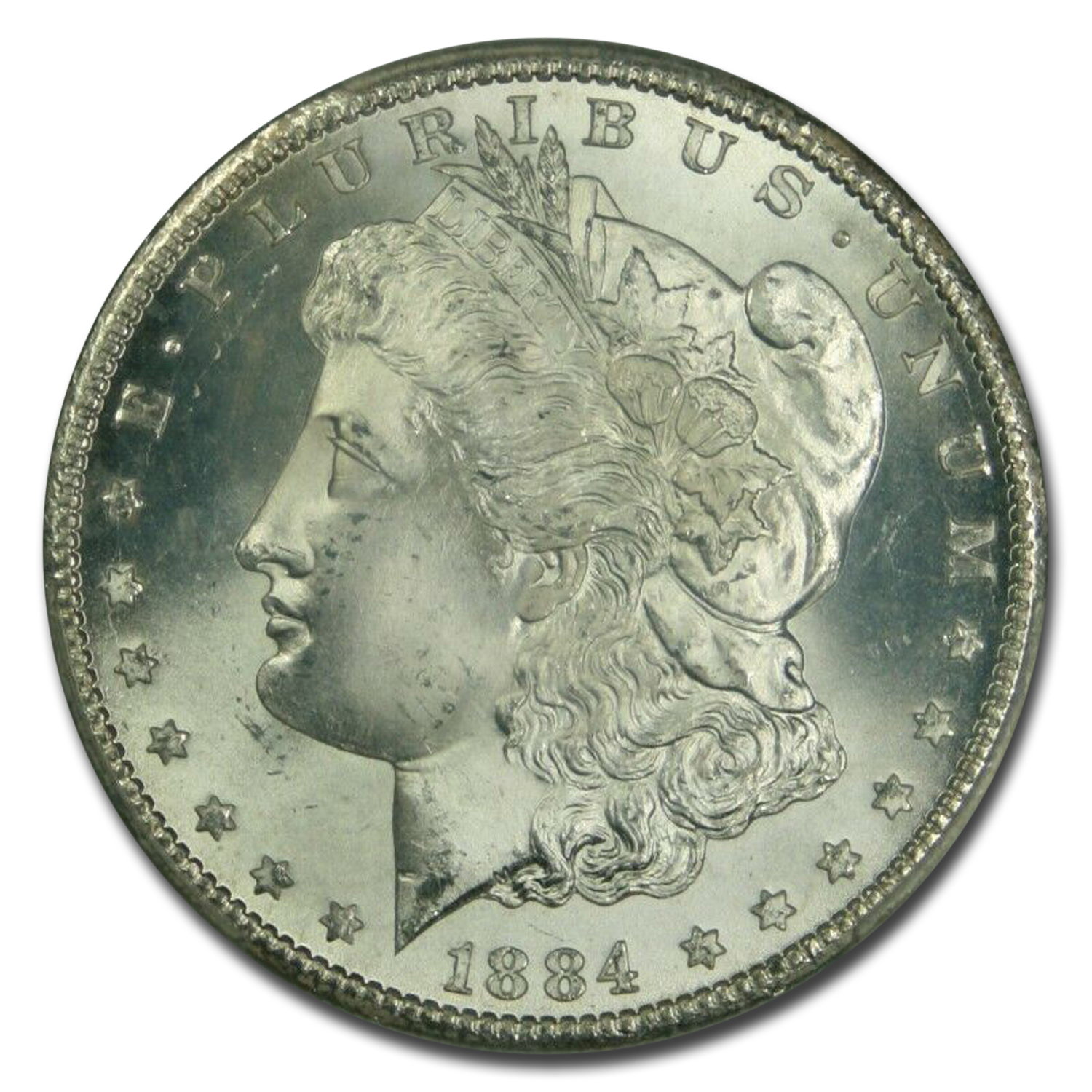 1884-CC Morgan Dollar MS-66 PCGS