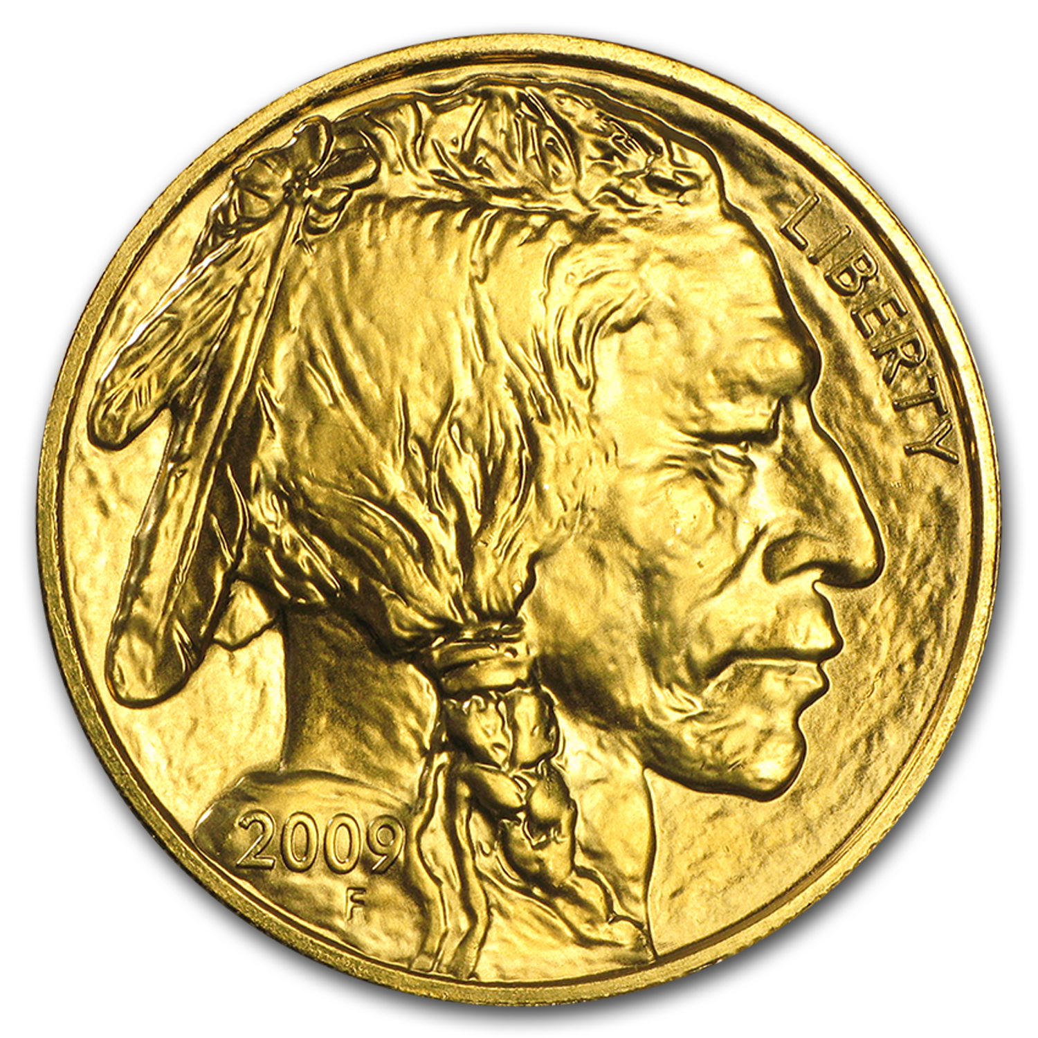 2009 1 oz Gold Buffalo BU