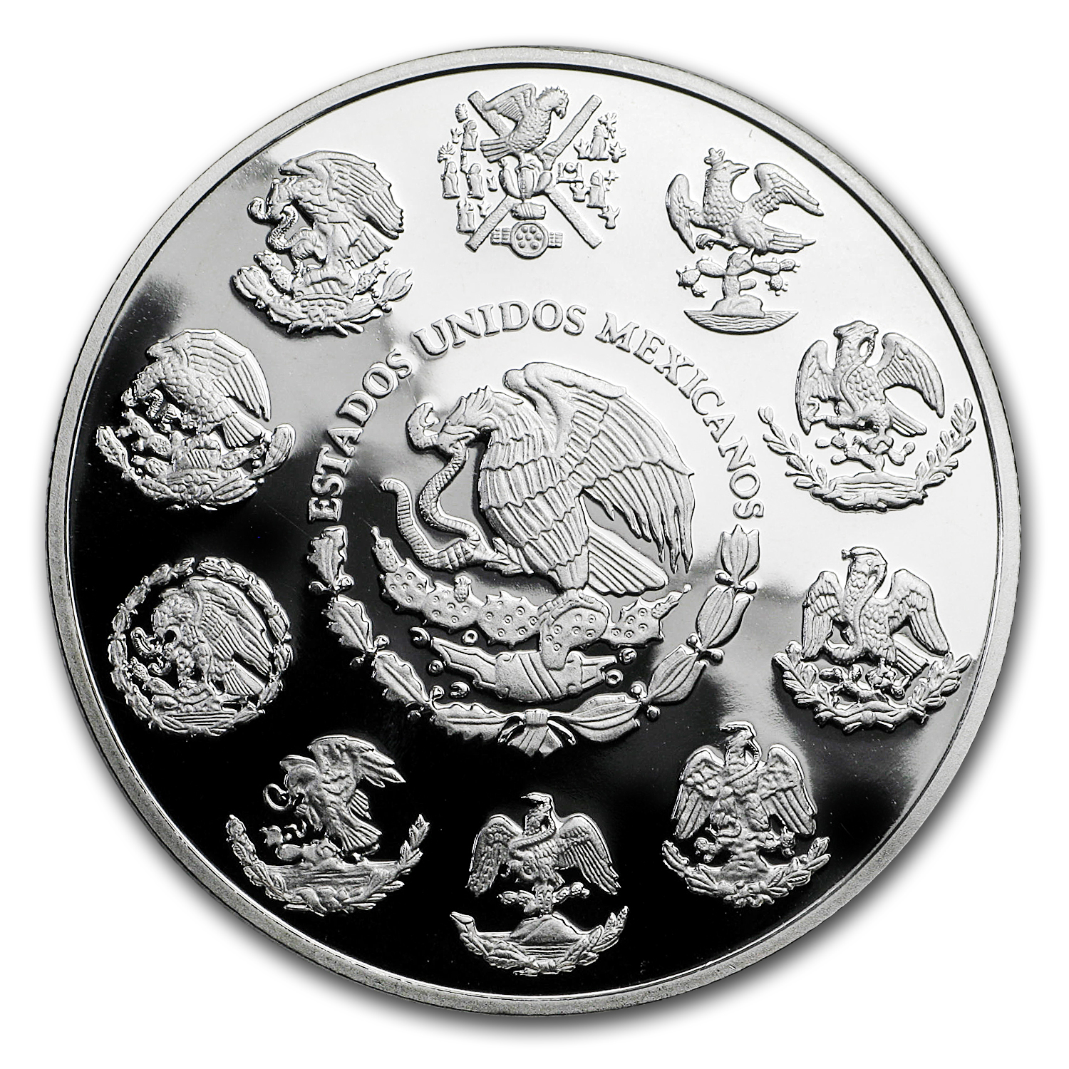 2009 Mexico 1 oz Silver Libertad Proof (In Capsule)