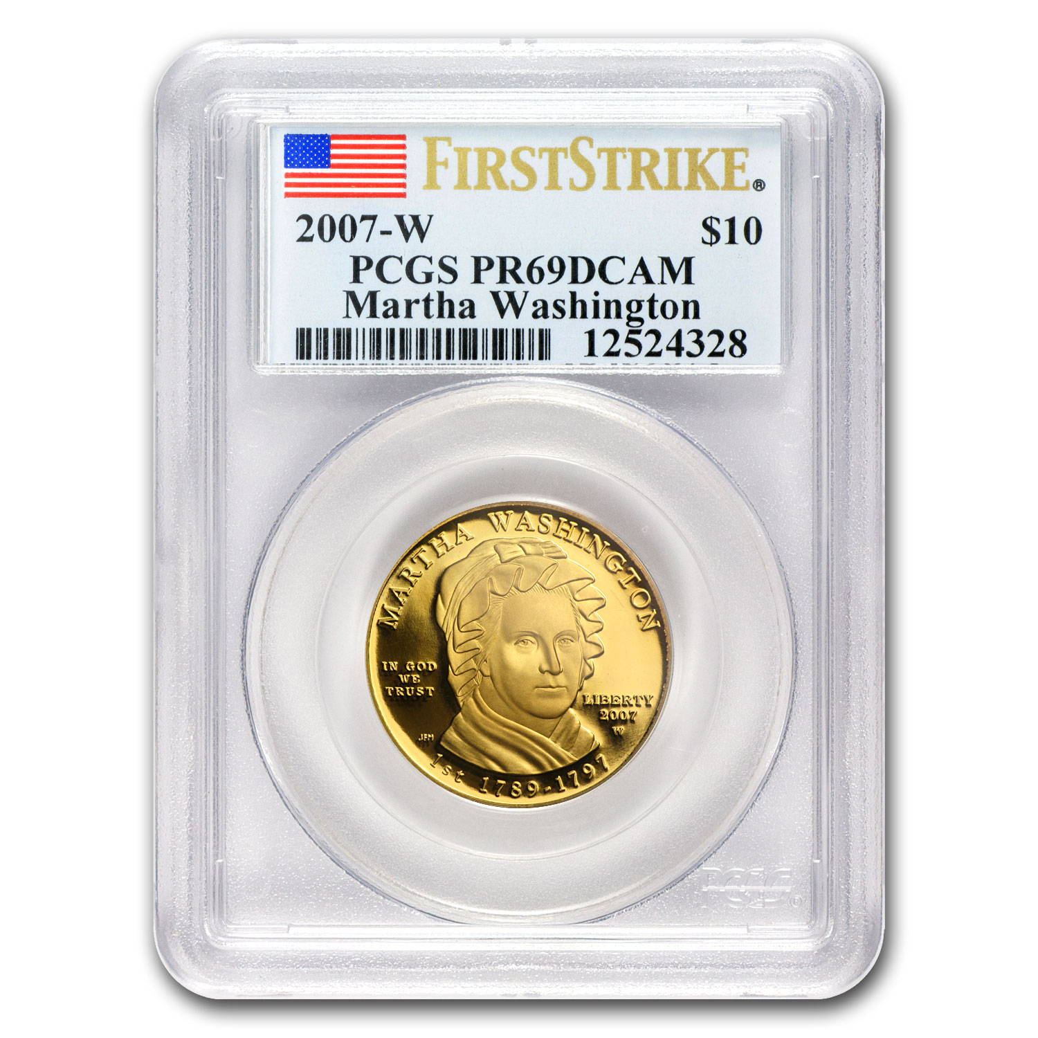 1/2 oz Proof Gold First Spouse Coins PR-69 PCGS (Random Year)