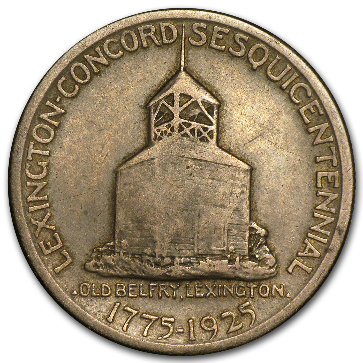 1925 Lexington-Concord Sesquicentennial - Very Fine