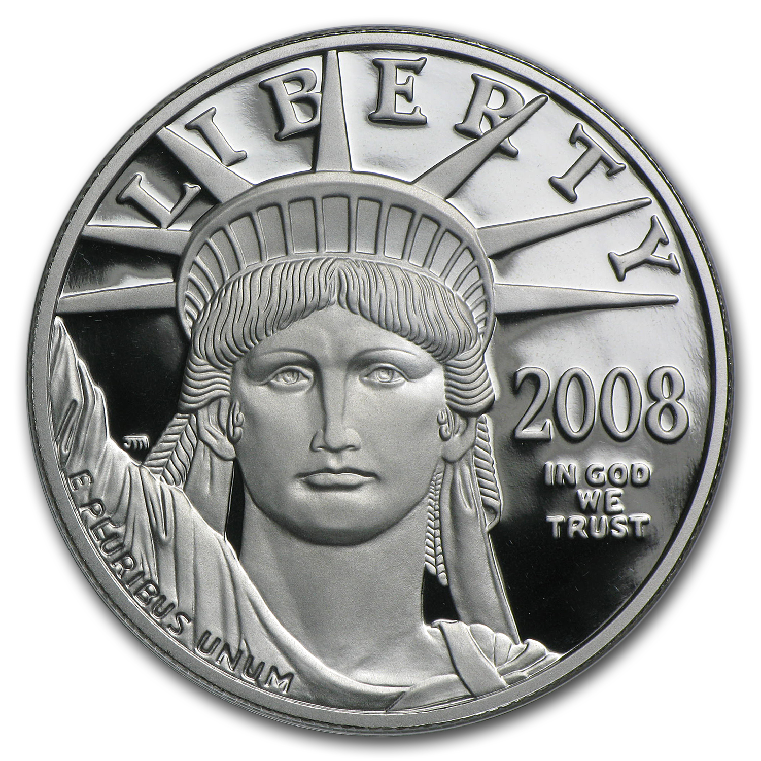 2008-W 1 oz Proof Platinum American Eagle (w/Box & COA)