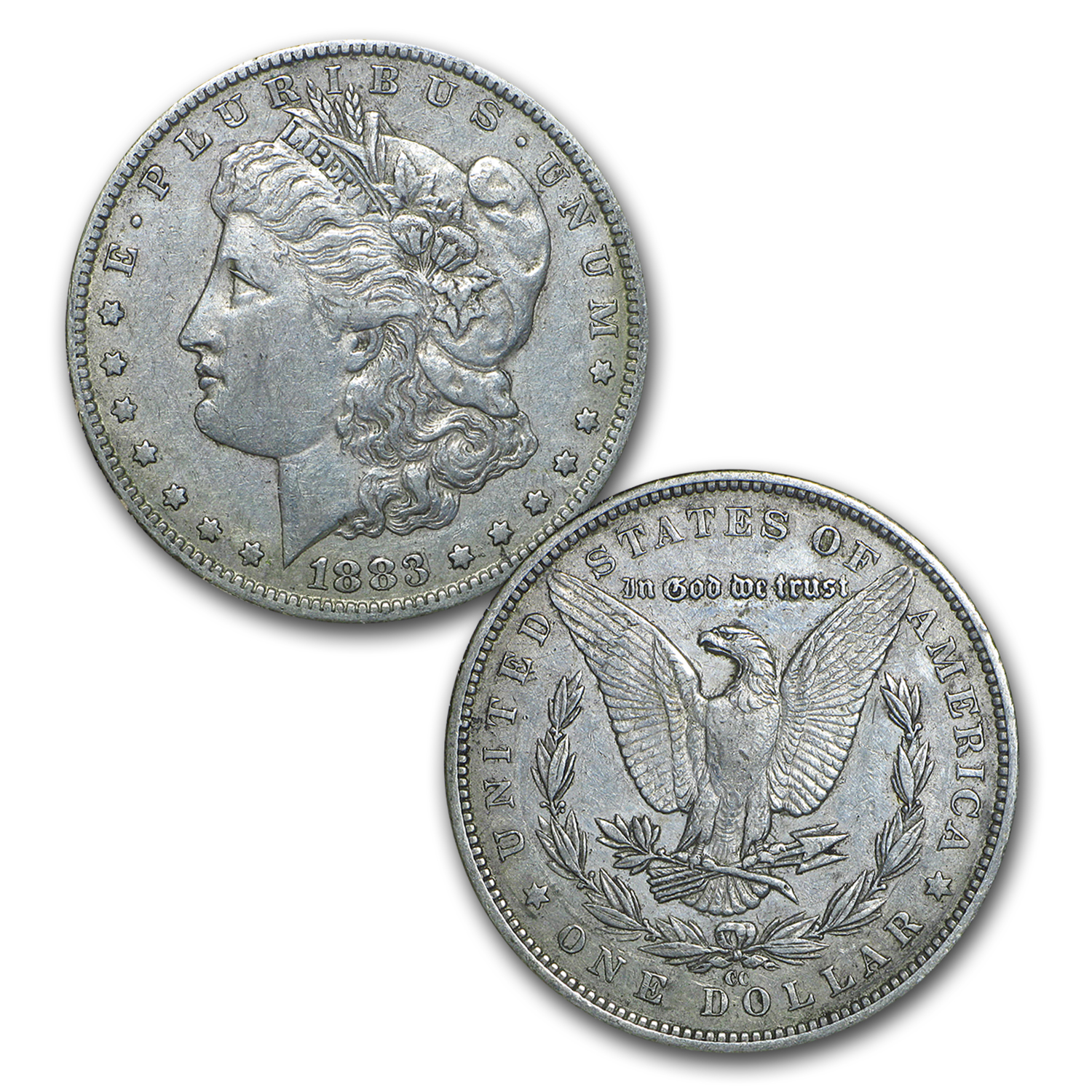 32-Coin Morgan Dollar Date Set (Dansco Album)