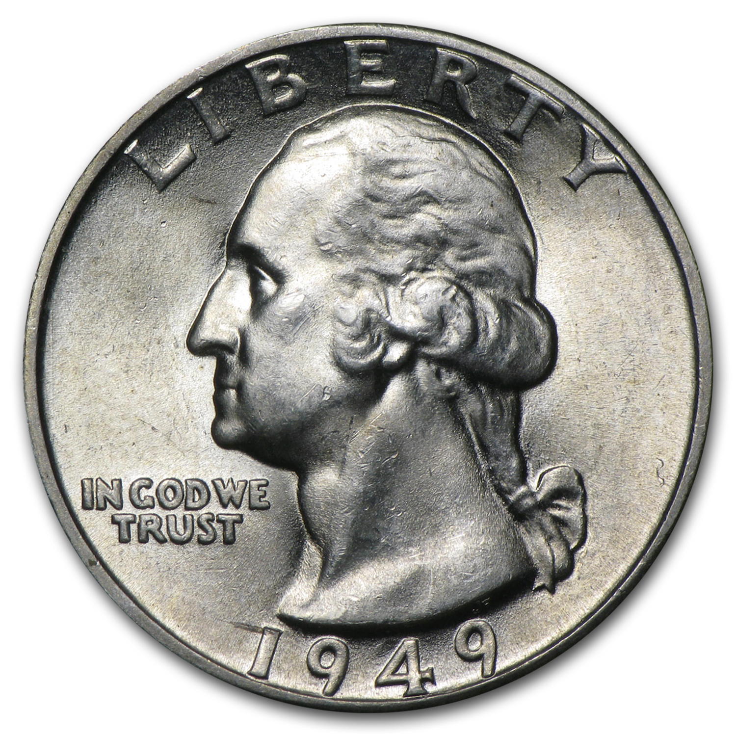 1949-D Washington Quarter BU