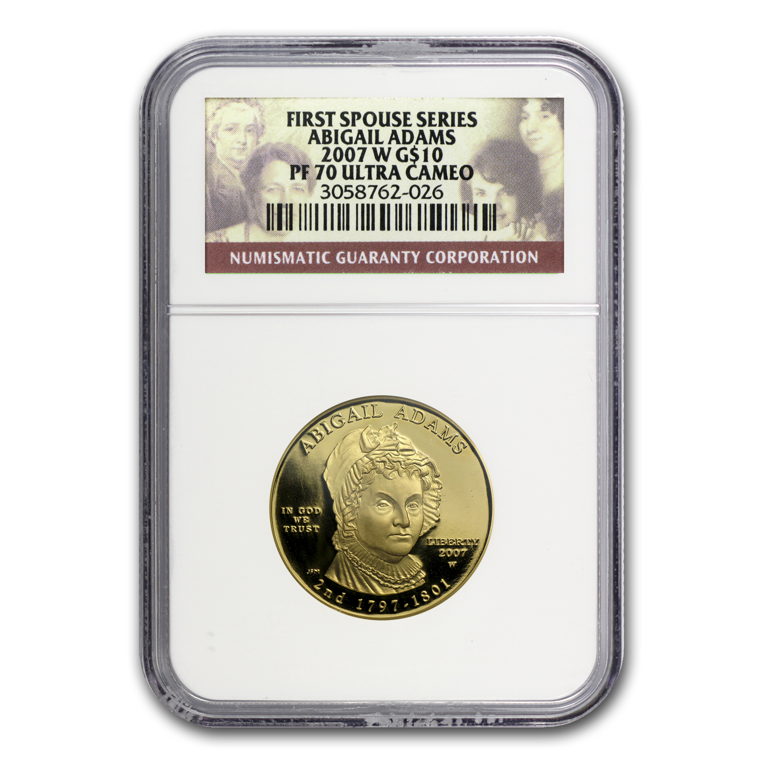 1/2 oz Gold First Spouse Coins MS & PF-70 NGC (Random Year)