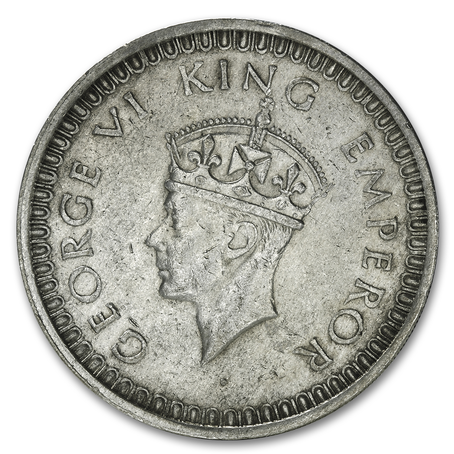 India Silver Rupees George VI XF (Random Dates)