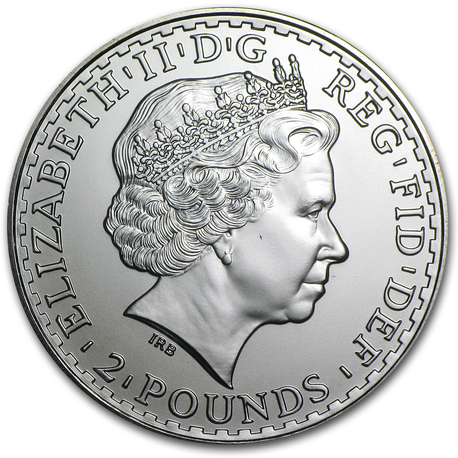 2010 Great Britain 1 oz Silver Britannia BU