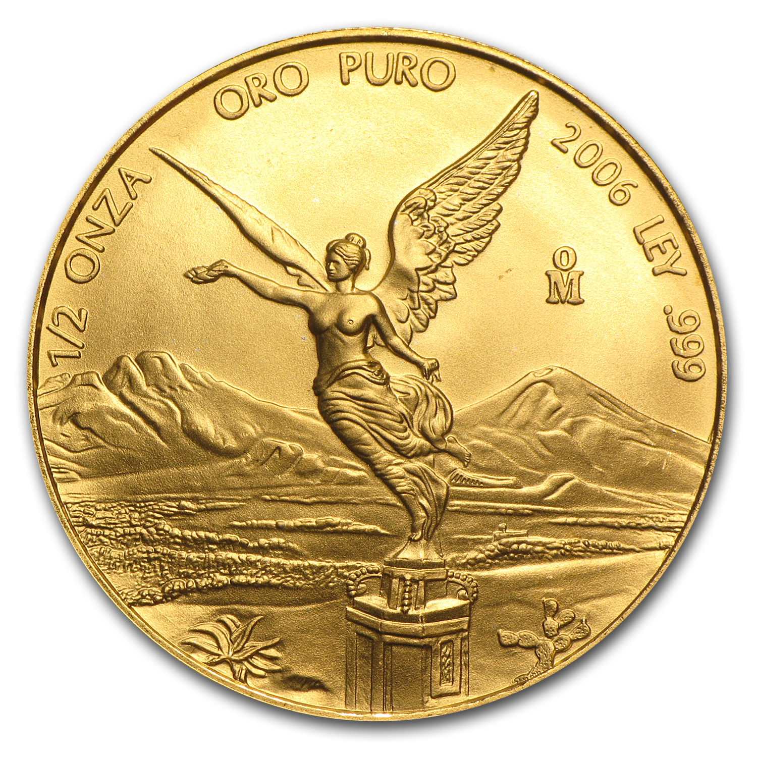2006 Mexico 1/2 oz Gold Libertad BU