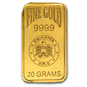 20 Gram Gold Bars - Emirates