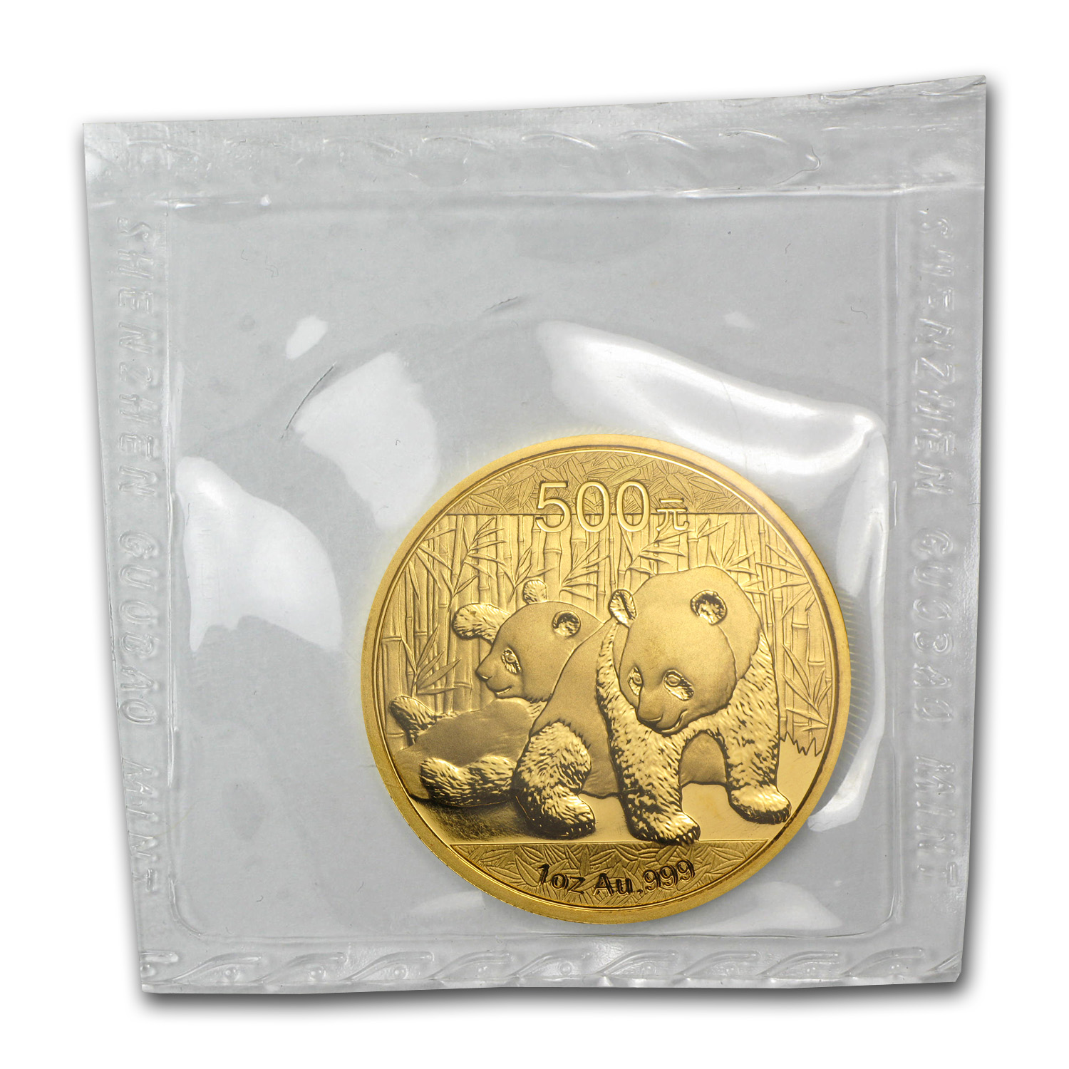 2010 1 oz Gold Chinese Panda BU (Sealed)
