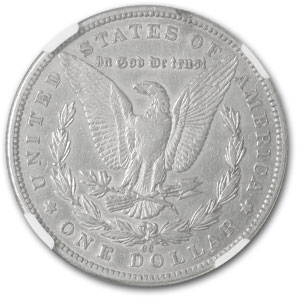 1889-CC Morgan Dollar XF Details NGC (Cleaned)