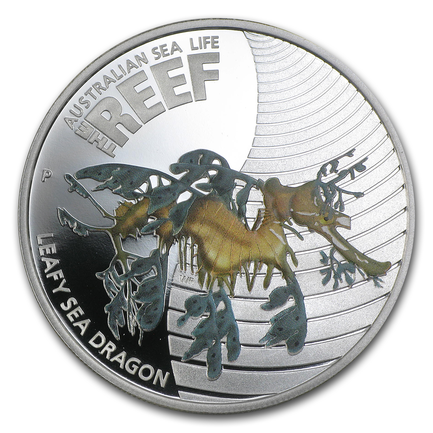 2009 1/2 oz Proof Silver Leafy Sea Dragon - Sea Life I Series