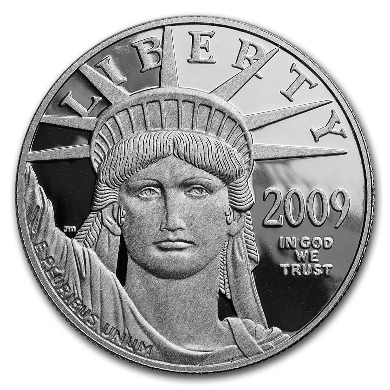 2009-W 1 oz Proof Platinum American Eagle (w/Box & COA)
