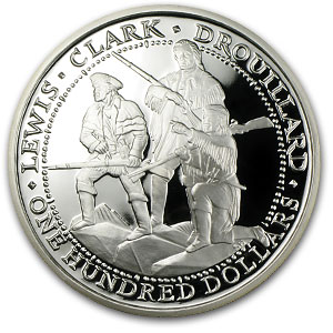 4 oz Silver Rounds - Shawnee Tribe (Proof/2003)
