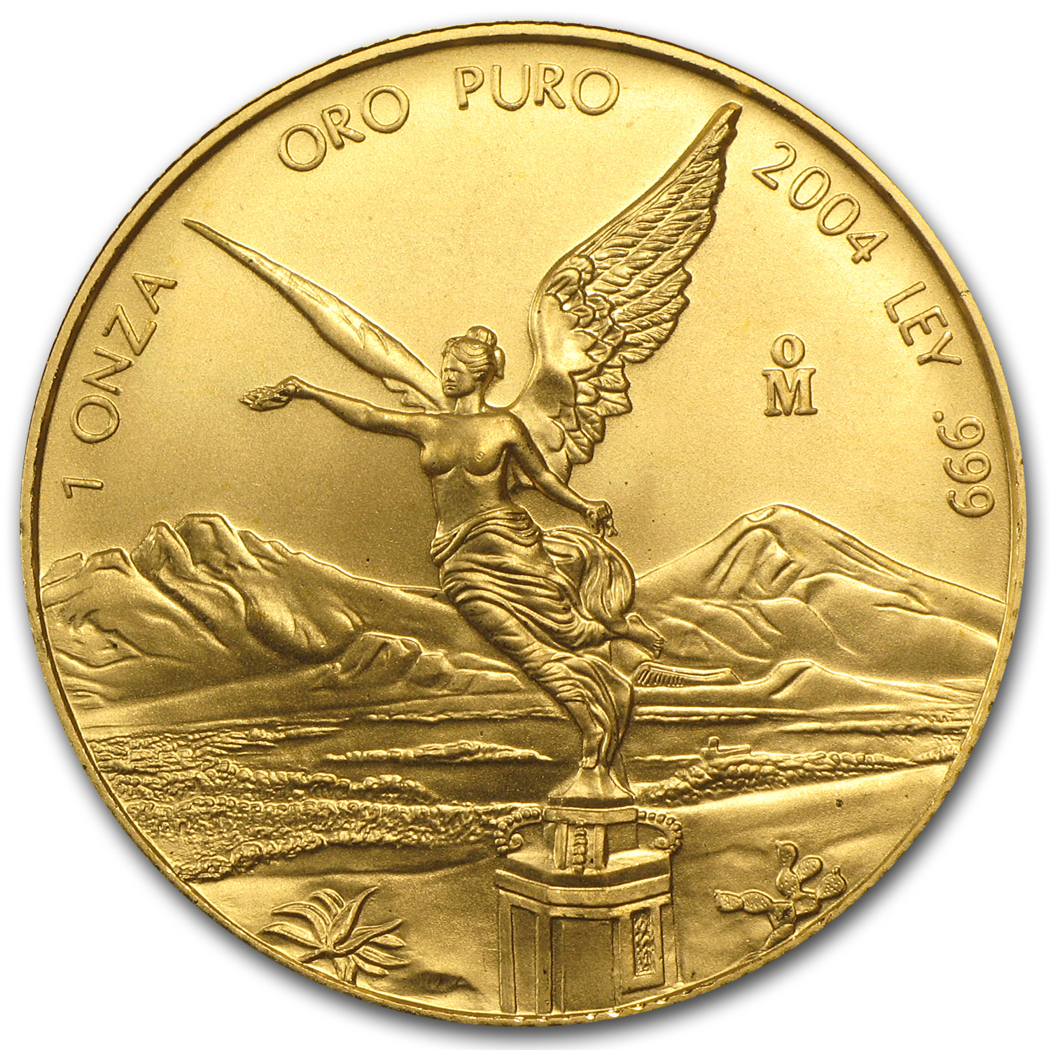 2004 Mexico 1 oz Gold Libertad BU