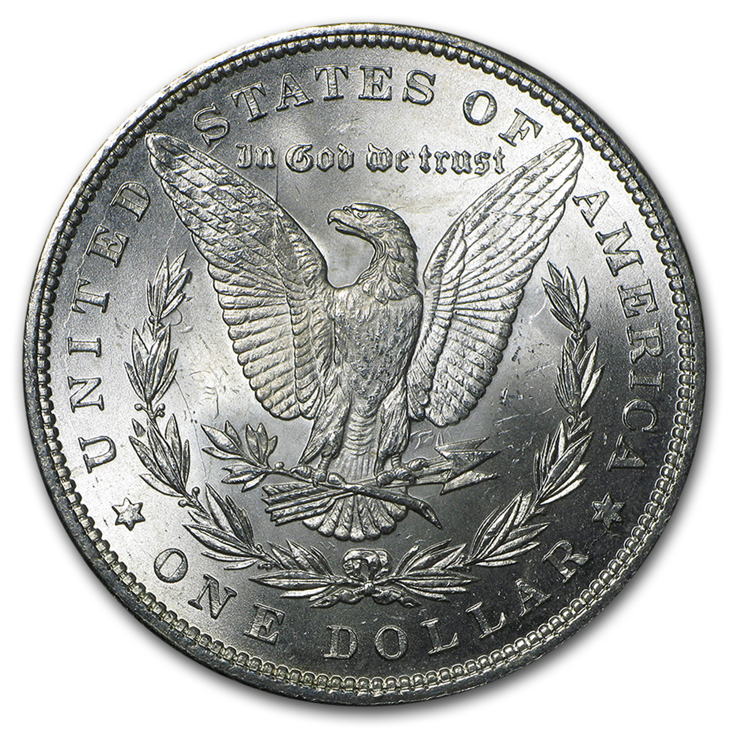 1884 Morgan Dollar - BU - VAM-2A - E Reverse Hot-50
