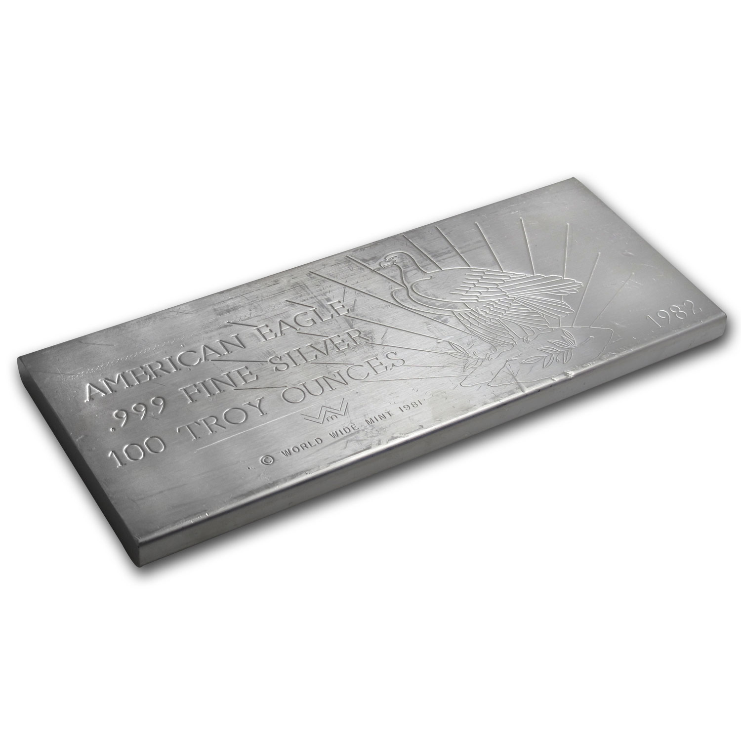 100 oz Silver Bars - World Wide Mint