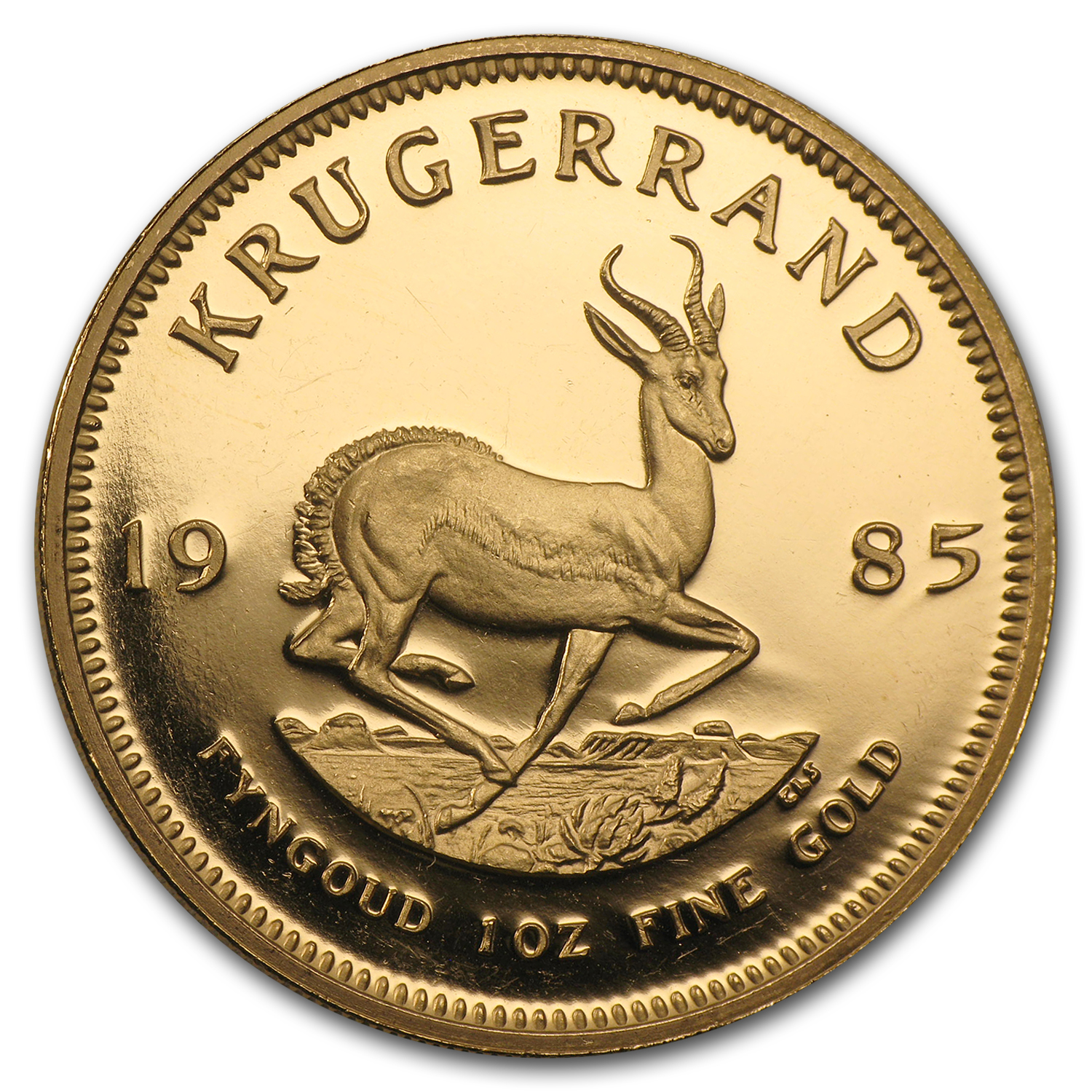 1985 1 oz Gold South African Krugerrand (Proof)