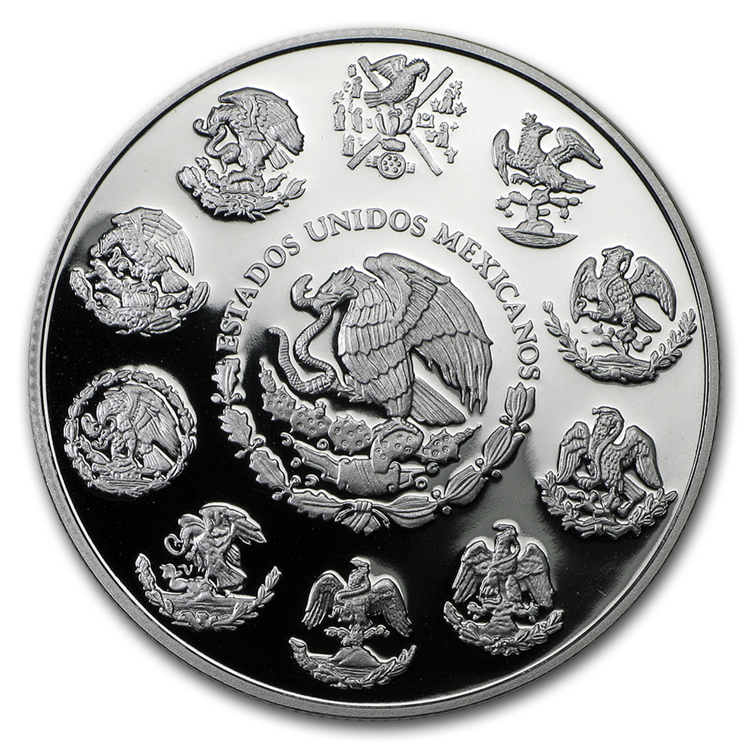 2010 1 oz Silver Mexican Libertad Proof (In Capsule)