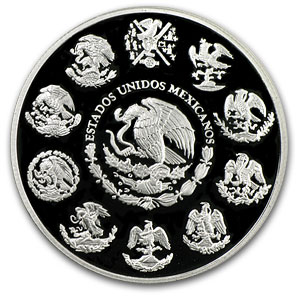 2010 2 oz Silver Mexican Libertad - Proof (In Capsule)