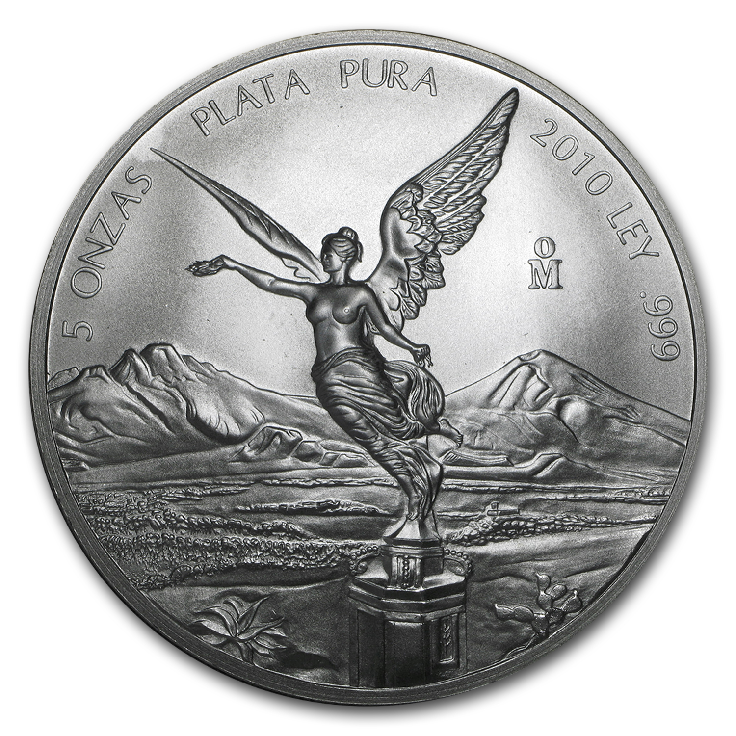 2010 5 oz Silver Mexican Libertad (Brilliant Uncirculated)