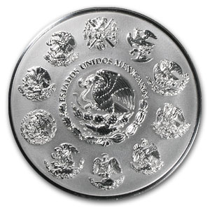 2010 Mexico 1 kilo Silver Libertad Proof Like (w/Box & COA)