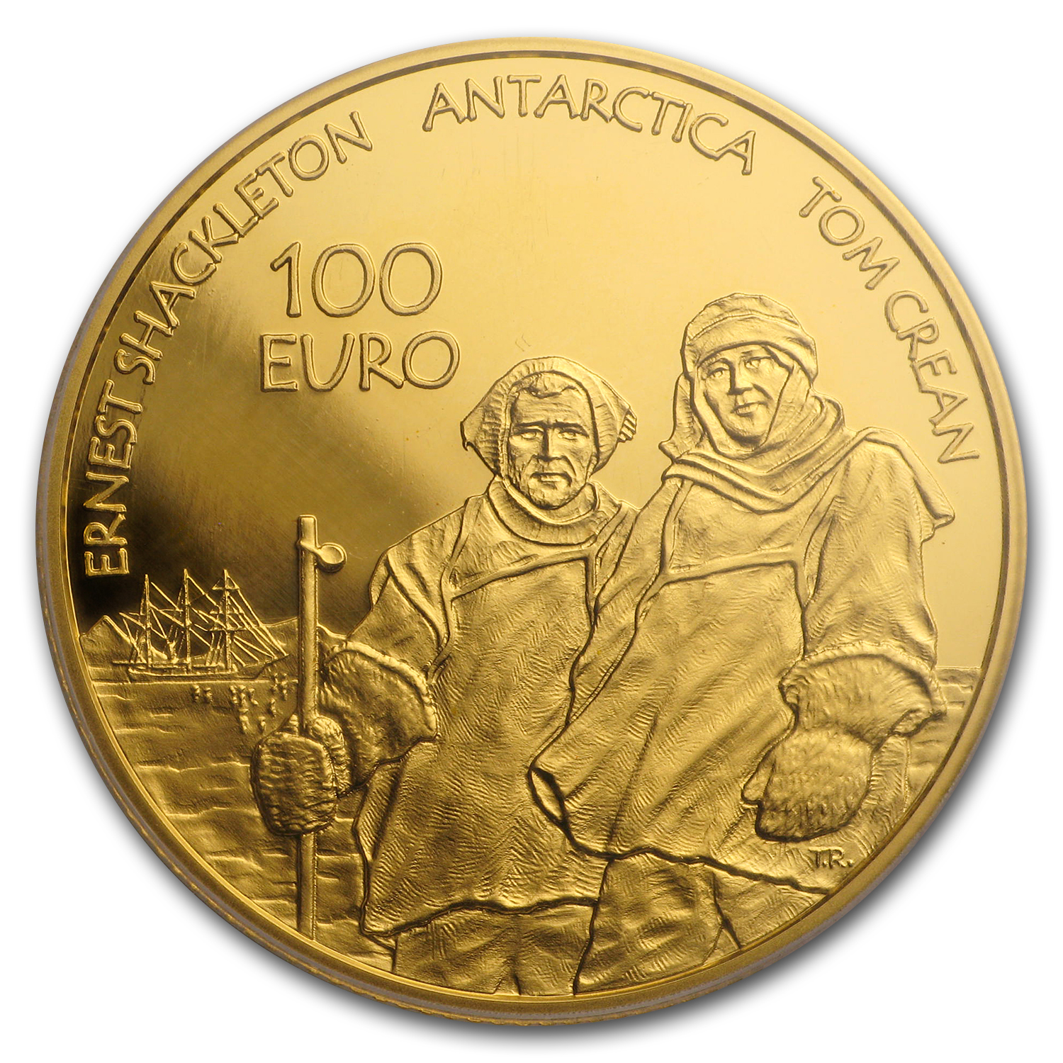 Ireland 2008 €100 Gold Proof International Polar Year