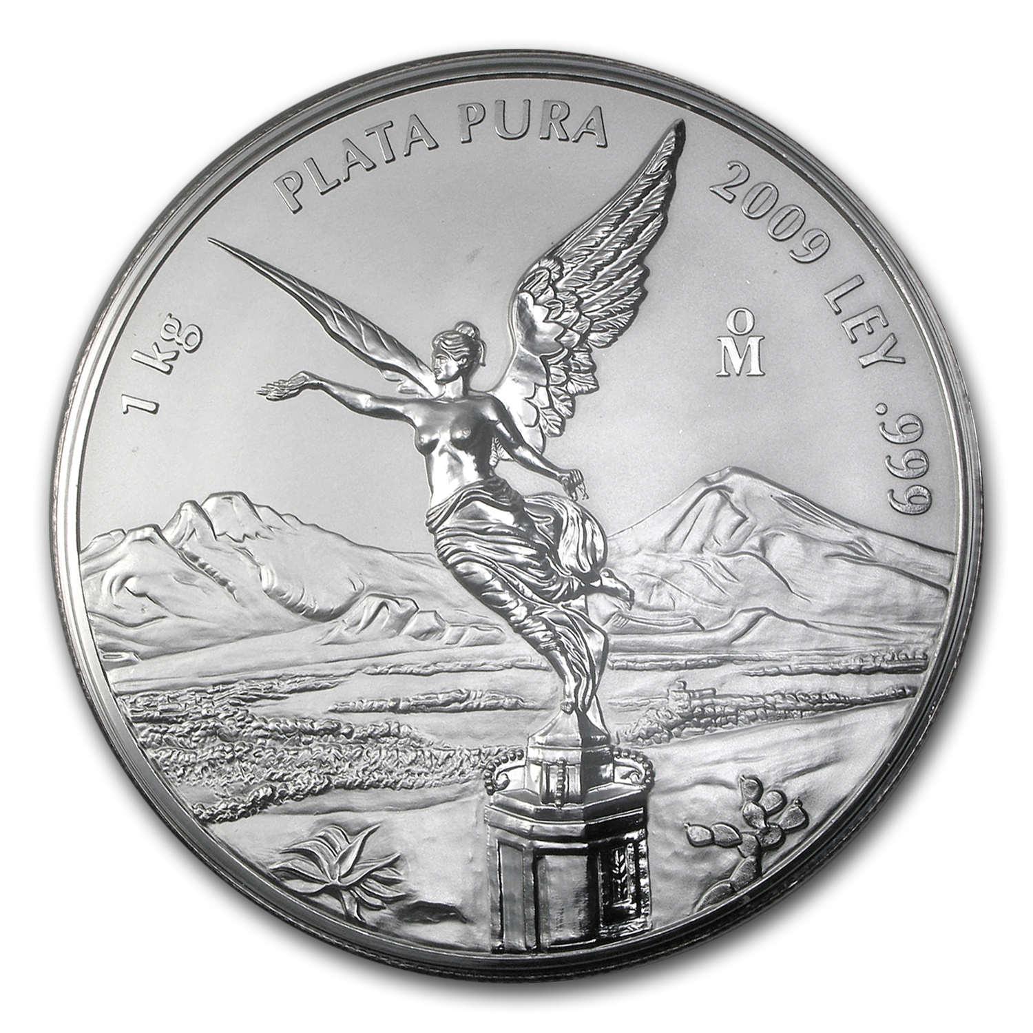 2009 1 kilo Silver Libertad Proof Like (w/Box & COA)