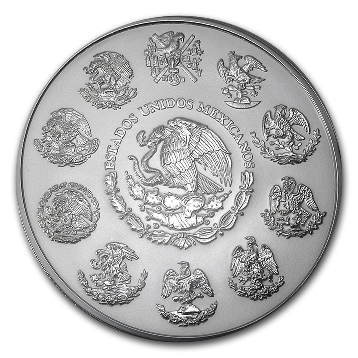 2009 Mexico 1 kilo Silver Libertad Proof Like (w/Box & COA)