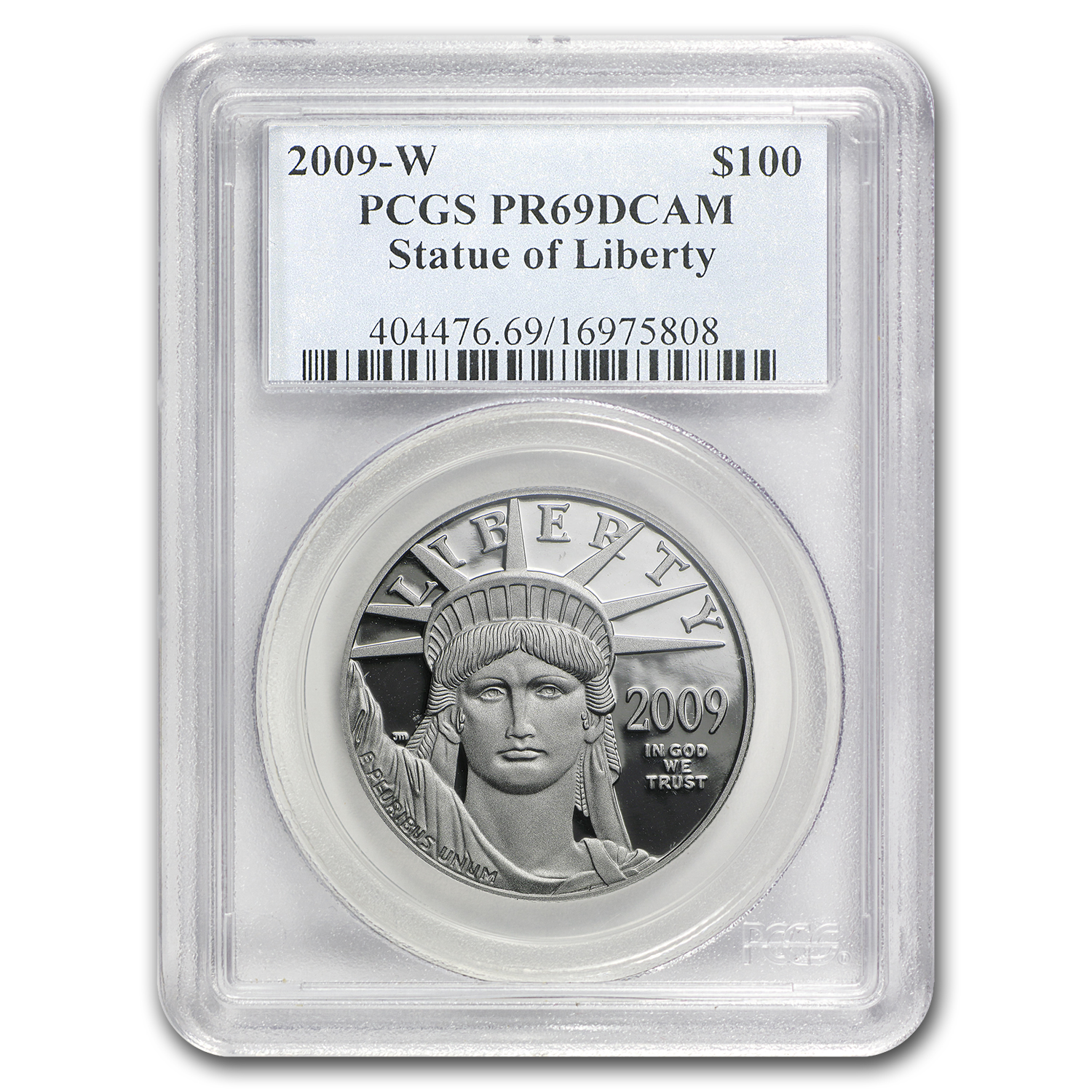 2009-W 1 oz Proof Platinum American Eagle PR-69 PCGS