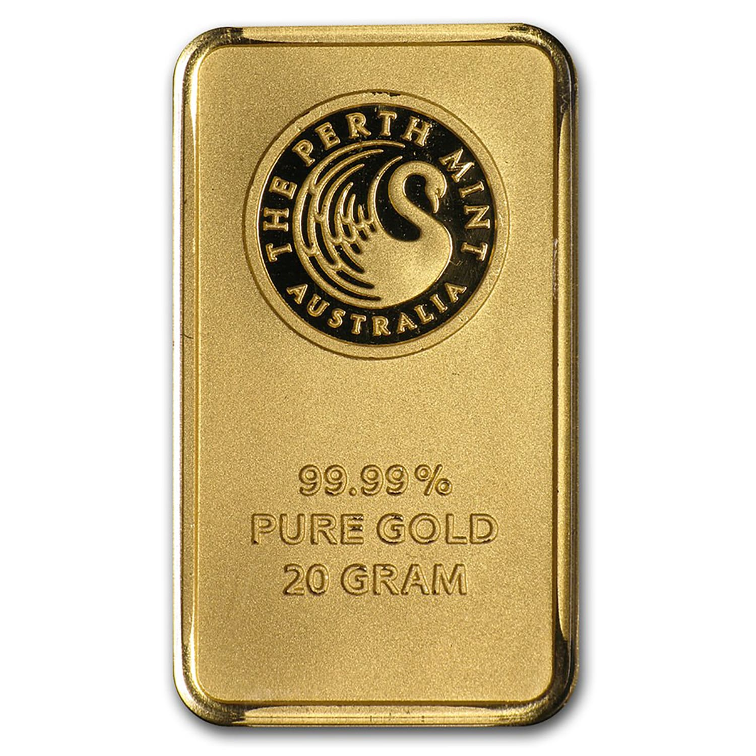 20 gram Gold Bars - Perth Mint (In Assay)
