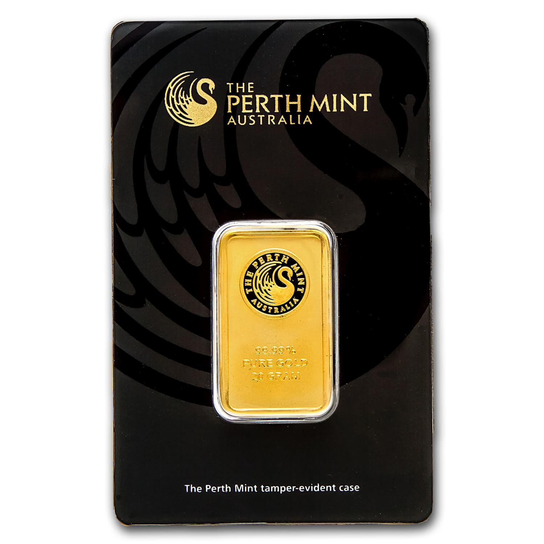 20 Gram Gold Bar Perth Mint In Assay Perth Mint