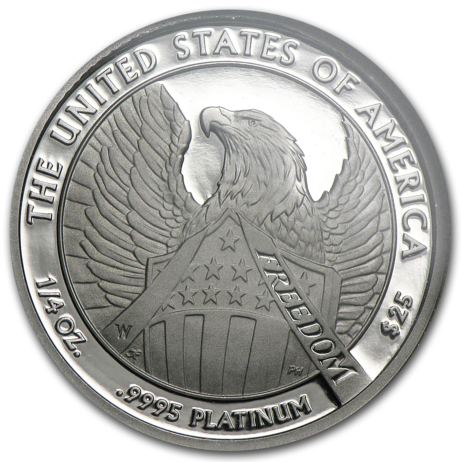 2007-W 1/4 oz Proof Platinum American Eagle PF-70 NGC