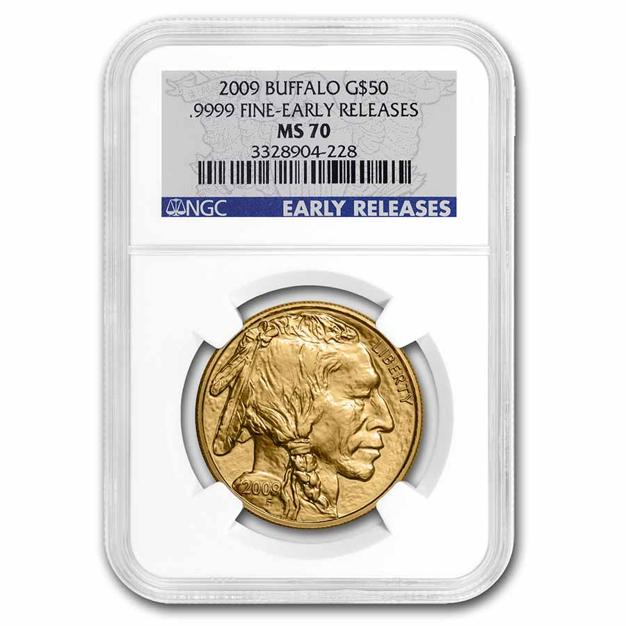 2009 1 oz Gold Buffalo MS-70 NGC (Early Releases)