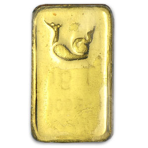 1 gram Gold Bars - Bangkok Refinery (In Assay)