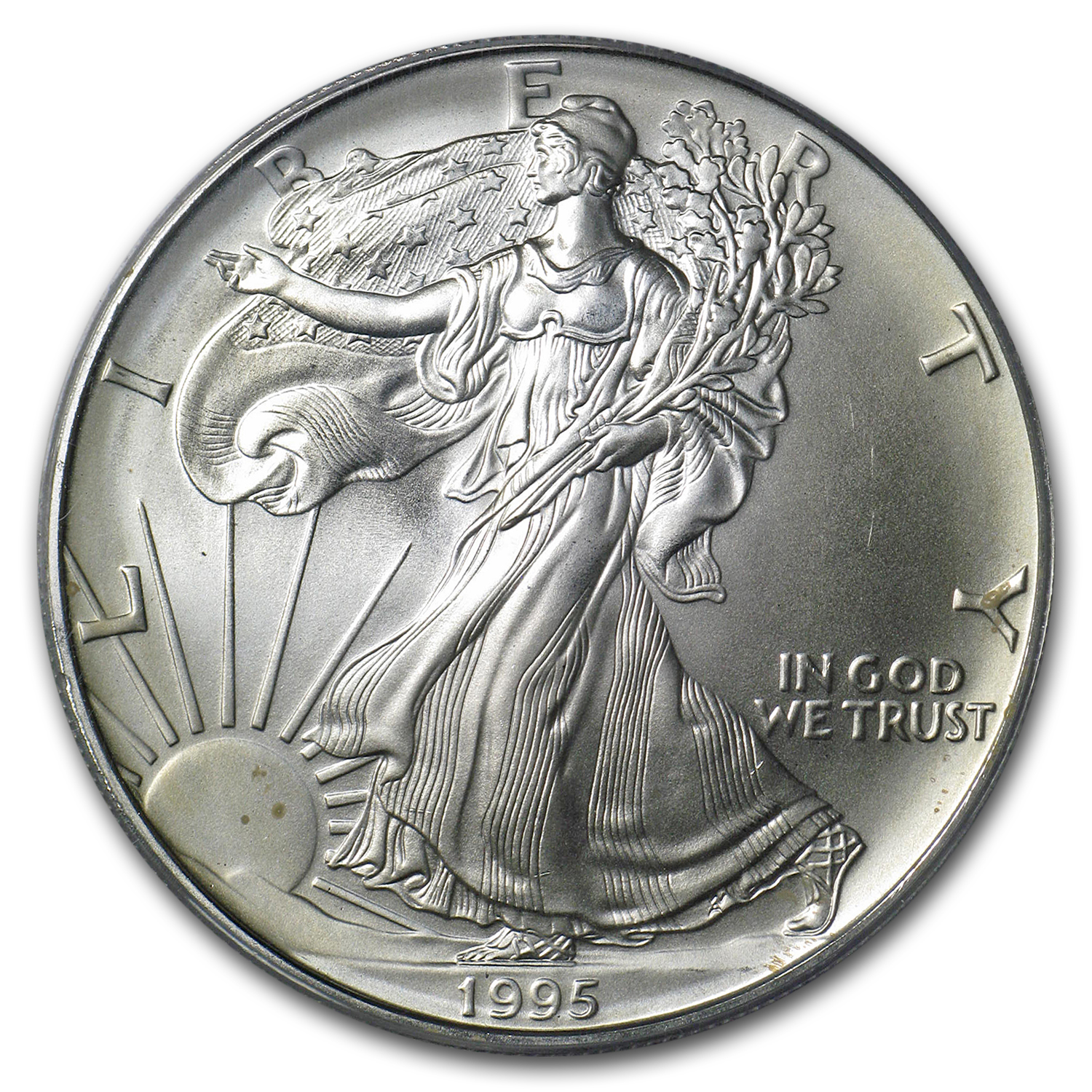 1995 Silver American Eagle - MS-69 PCGS - First Strike