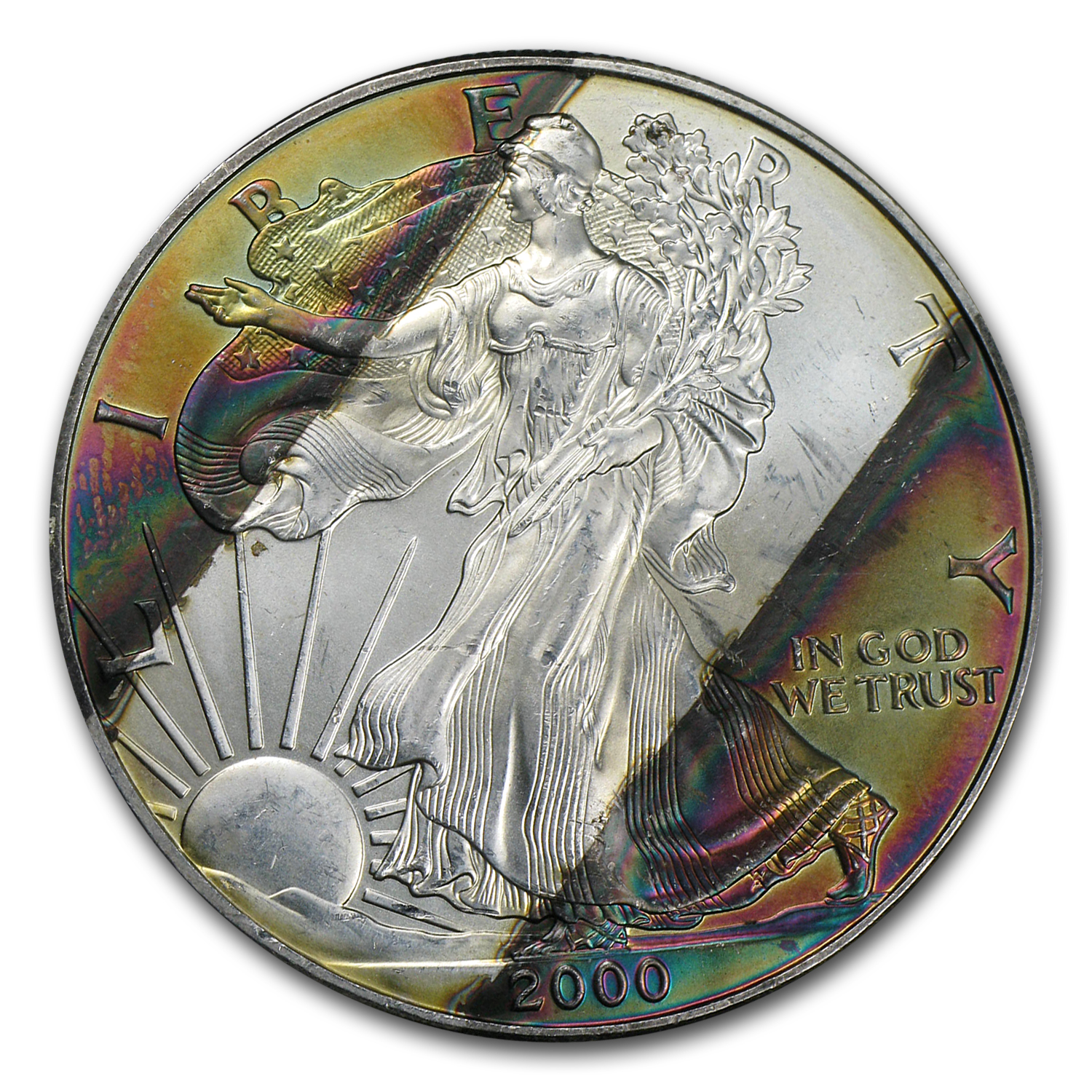 1 oz Silver American Eagle (Toned)
